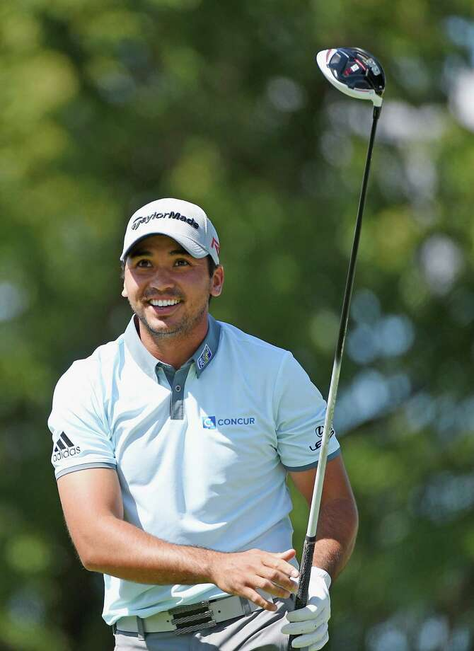 EDISON, NJ - AUGUST 28:  Jason Day of Australia watches his tee shot on the seventh hole during the second round of The Barclays at Plainfield Country Club on August 28, 2015 in Edison, New Jersey.  (Photo by Ross Kinnaird/Getty Images) Photo: Ross Kinnaird, Staff / 2015 Getty Images
