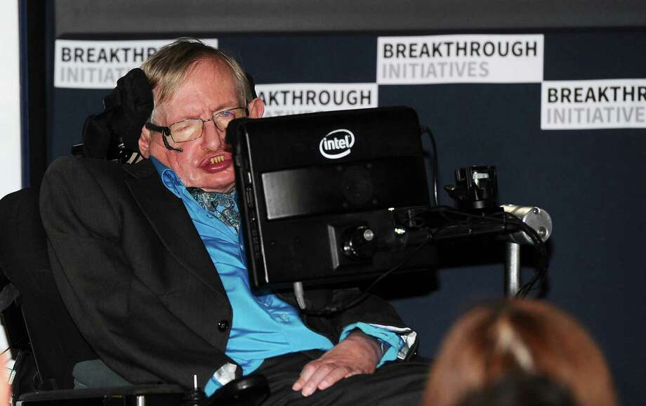 LONDON, ENGLAND - JULY 20:  Theoretical Physicist Stephen Hawking attends a press conference on the Breakthrough Life in the Universe Initiatives, hosted by Yuri Milner and Stephen Hawking, at The Royal Society on July 20, 2015 in London, England.  (Photo by Stuart C. Wilson/Getty Images for Breakthrough Initiatives) Photo: Stuart C. Wilson, Stringer / (Credit Too Long, See Caption) / 2015 Getty Images
