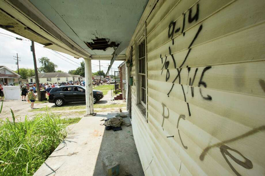 A dilapidated house stands in the Lower Ninth Ward 10 years after Hurricane Katrina. Photo: Brett Coomer, Houston Chronicle / © 2015 Houston Chronicle