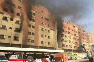 11 killed in fire at oil company residence in Saudi Arabia - Photo