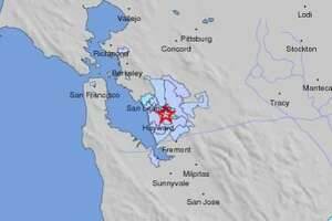 2.6 earthquake hits near Hayward - Photo