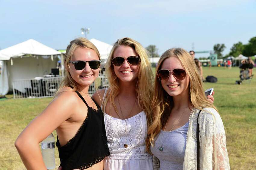 On Saturday hundreds showed up in San Marcos for the 2015 Float Fest, A weekend-long music, camping and tubing festival.