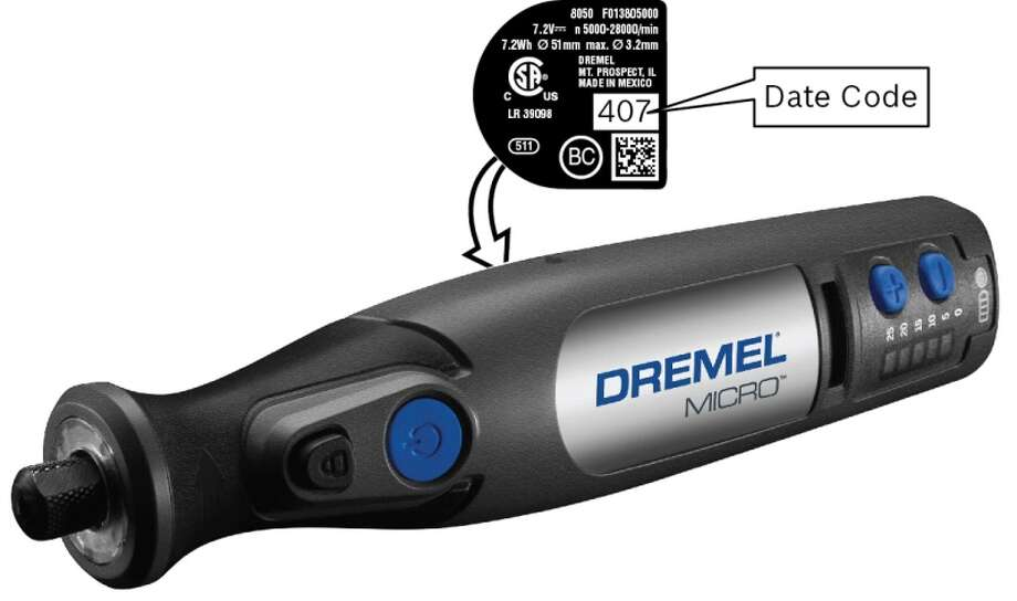 The Dremel MICRO Model 8050 Rotary Tool is being recalled. Photo: U.S. Consumer Product Safety Commission / United States Consumer Product S