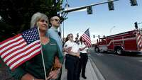 Thousands mourn fallen firefighters in Washington state - Photo