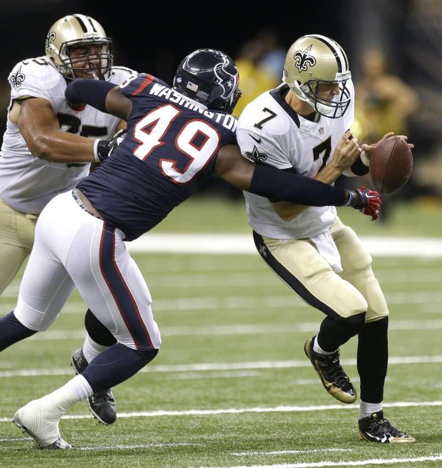 25. Texans-SaintsSunday, Aug. 30Ch. 26774,129 Photo: Brett Coomer, Houston Chronicle