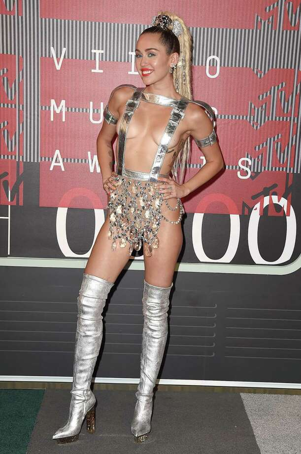 Singer Miley Cyrus attends the 2015 MTV Video Music Awards at Microsoft Theater on August 30, 2015 in Los Angeles, California.  (Photo by Steve Granitz/WireImage) Photo: Steve Granitz, Getty Images / 2015 Steve Granitz