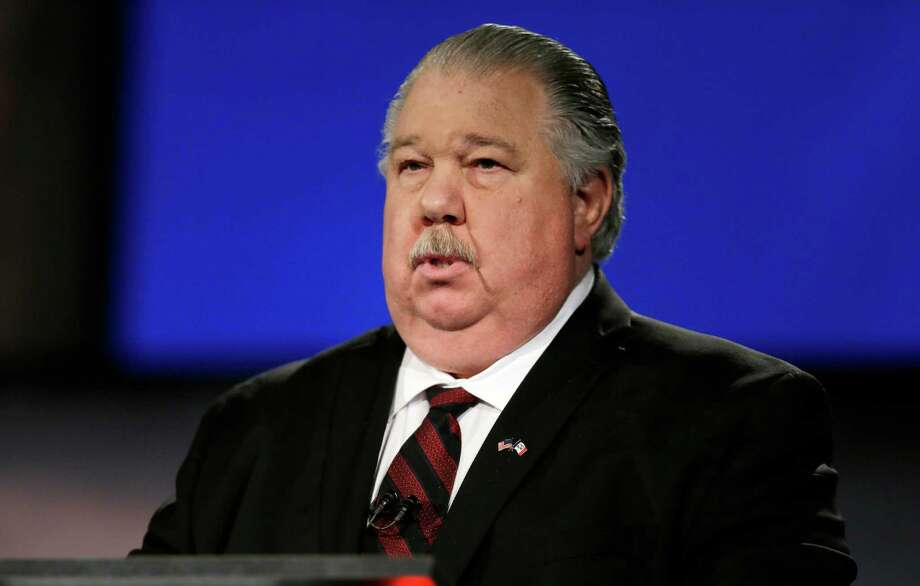Sam Clovis rapped Donald Trump last month. Now, he's working for Trump's cam- paign in Iowa. Photo: Charlie Neibergall /Associated Press / AP