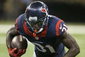 Despite touchdown run not counting, Texans' Charles James keeping football - Photo