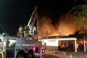 Two Los Gatos schools closed after overnight fire - Photo