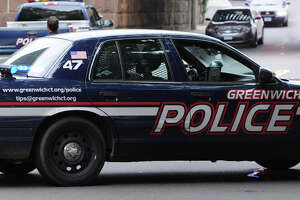 Teen-aged cyclist rushed to hospital after accident near Greenwich High School - Photo