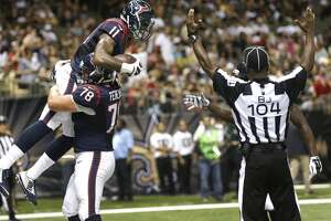 Texans rookie wide receiver enjoys his best game as a pro - Photo