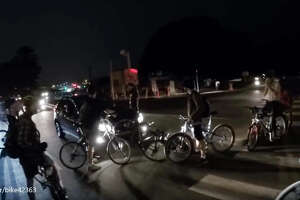 Critical Mass event turns ugly in the Marina District - Photo