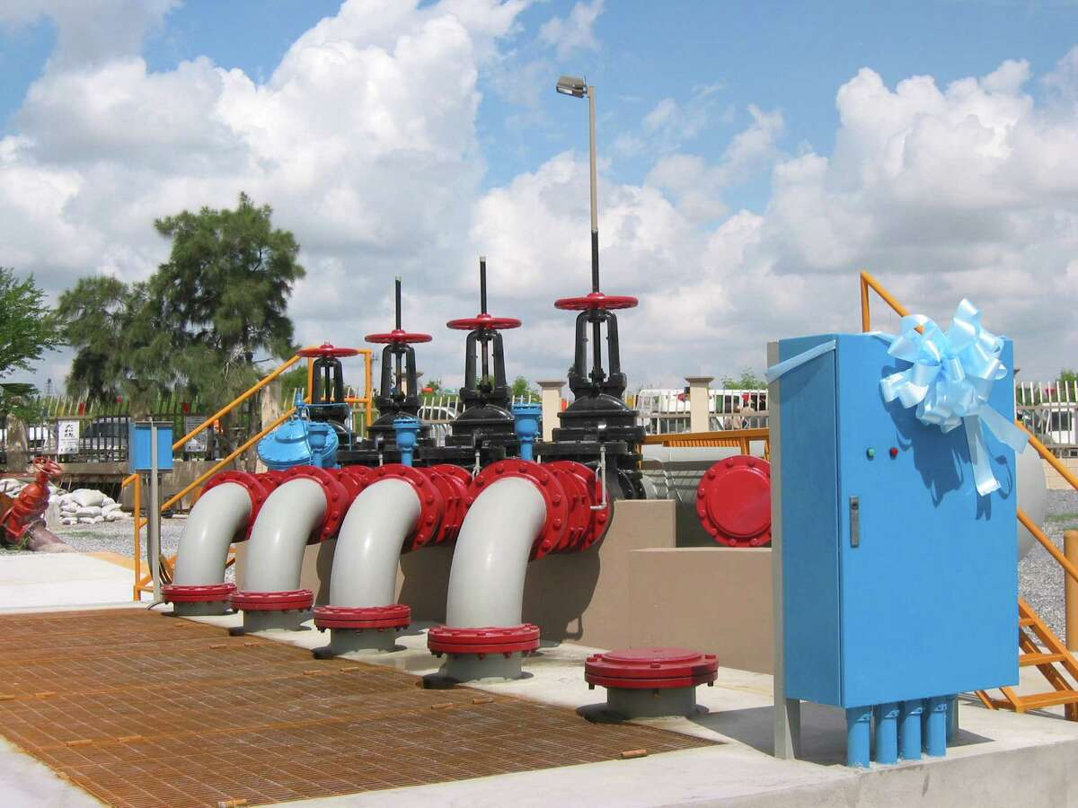 The pump station No. 10 in Reynosa, Mexico, was financed by the San Antonio-based North American Development Bank.