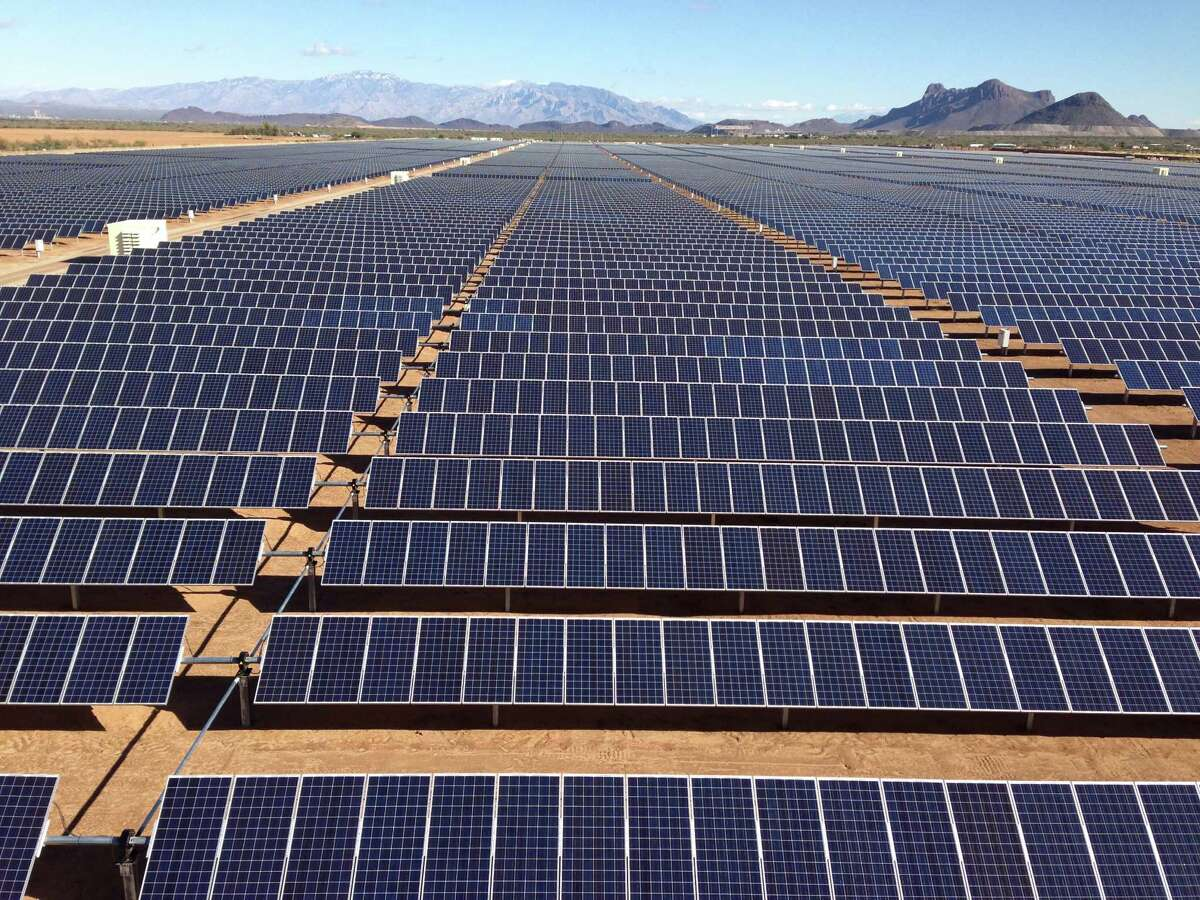 A solar park in Picture Rocks, Arizona, was financed by the San Antonio-based North American Development Bank.