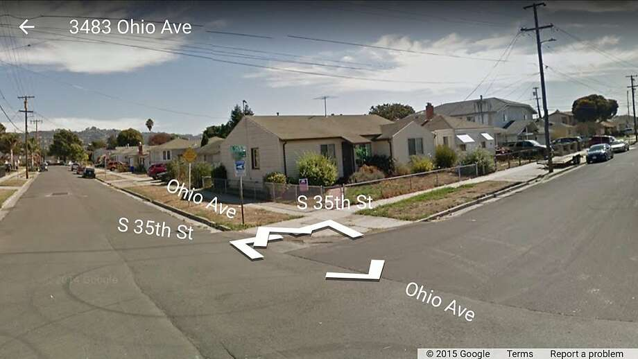 Robert Carl Roy, 65, was shot and killed near the corner of South 35th Street and Ohio Avenue in Richmond. Photo: Google M Aps