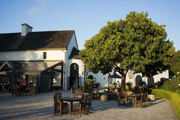 Folktale Winery is seen in Carmel, Calif. on Sunday, Aug. 30, 2015. The winery features a new outdoor pavilion for guests to enjoy.