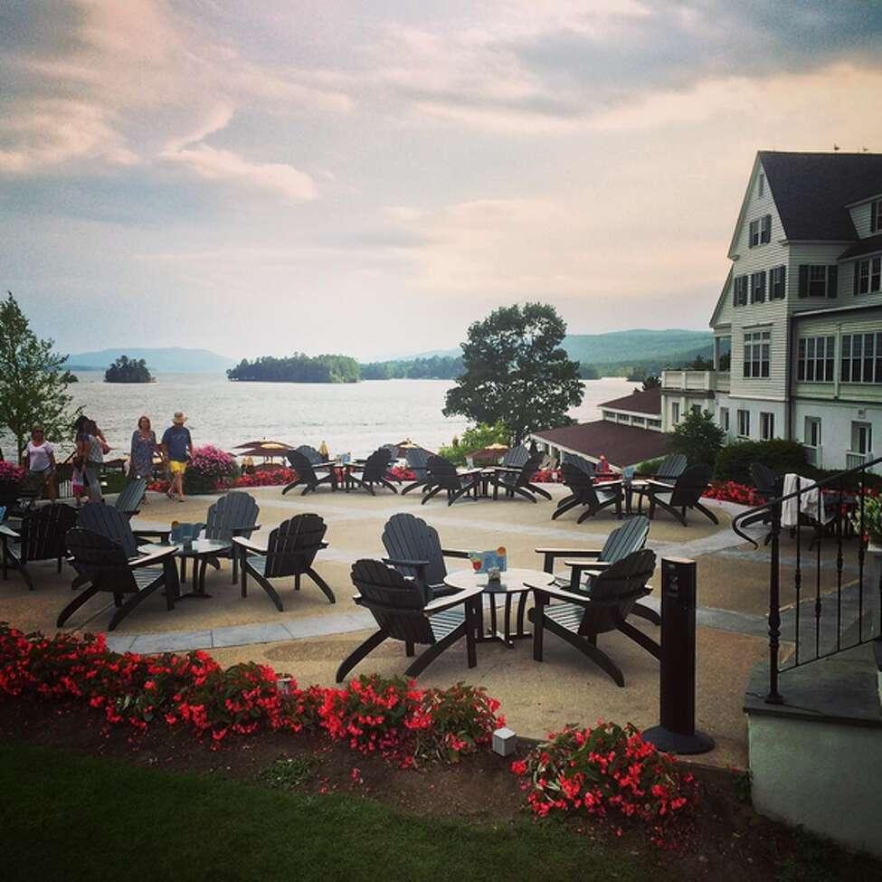 The Sagamore Resort, Lake George. Photo credit: @lizkroft