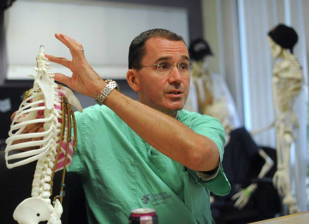 Dr. John J. Doski, a San Antonio surgeon, demonstrated the benefits of the titanium rib during a presentation in 2012 at Christus Santa Rosa Children's Hospital. The hospital is now known as Children's Hospital of San Antonio.