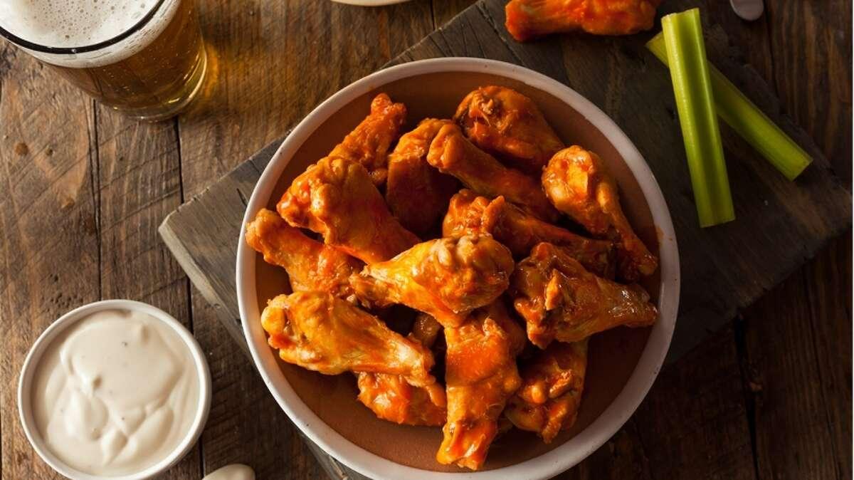 Chicken (wings, fried etc.) ColoradoIowaMassachusettsNew YorkNorth DakotaOklahomaVirginiaSource: Directv