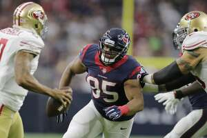 Rookie Christian Covington continues to improve on Texans' defensive line - Photo