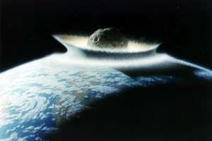 How big would an asteroid have to be to wipe out all life on Earth? - Photo