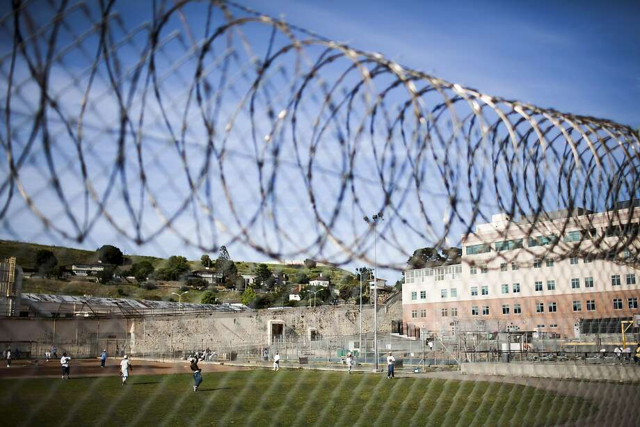 San Quentin State Prison in California, where more than 740 inmates are on death row, April 30, 2014. A federal appeals court is soon to weigh in on a lower court's ruling which held the state's death penalty system to be unconstitutional on grounds that it was applied so arbitrarily as to amount to cruel and unusual punishment. (Max Whittaker/The New York Times) Photo: Max Whittaker, New York Times