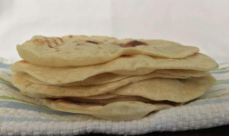 Flour tortillas from a family recipe of Estella Tijerina Photo: Edmund Tijerina, San Antonio Express-News
