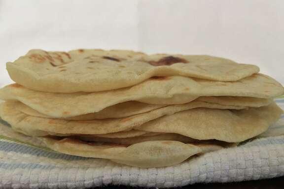 Flour tortillas from a family recipe of Estella Tijerina