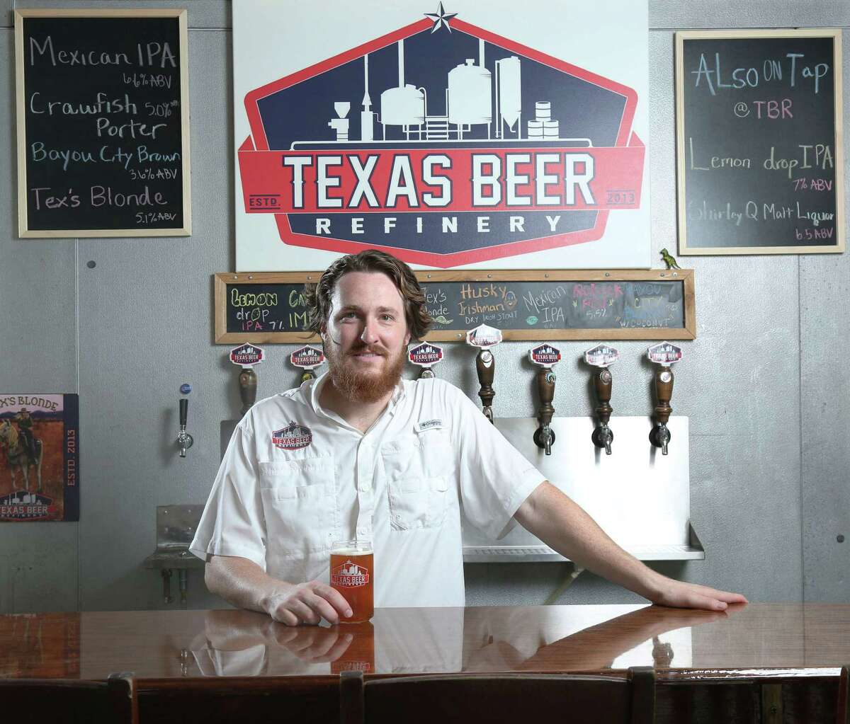 Texas Beer Refinery co-founders John Hearn, above, and Ryan Rhodes are moving closer to Kemah Boardwalk.