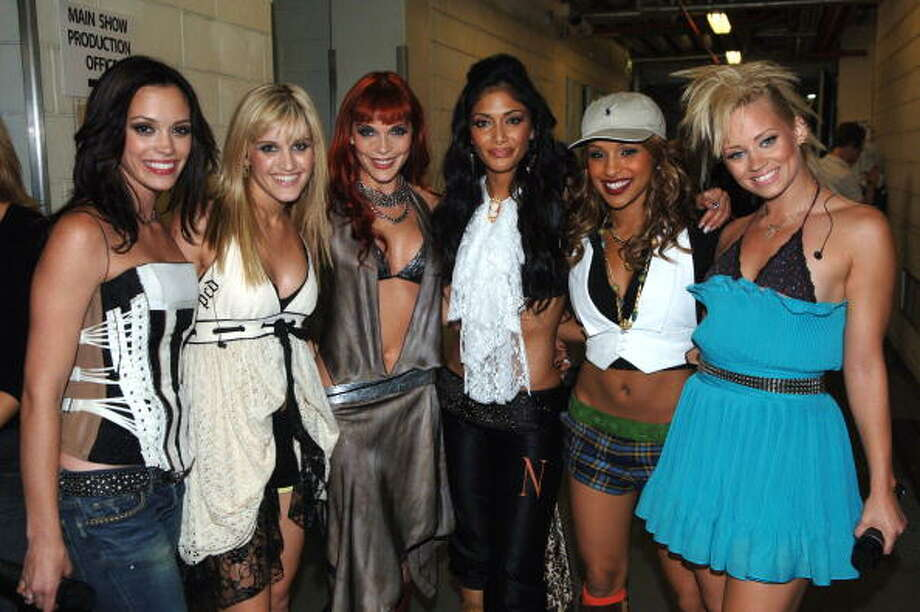 "Kaya Jones, a former member of the group The Pussycat Dolls, claims members of the band were ""in a prostitution ring,"" claiming they were pressured to sleep with people against their will.  Photo: Jeff Kravitz, Getty Images / FilmMagic, Inc"