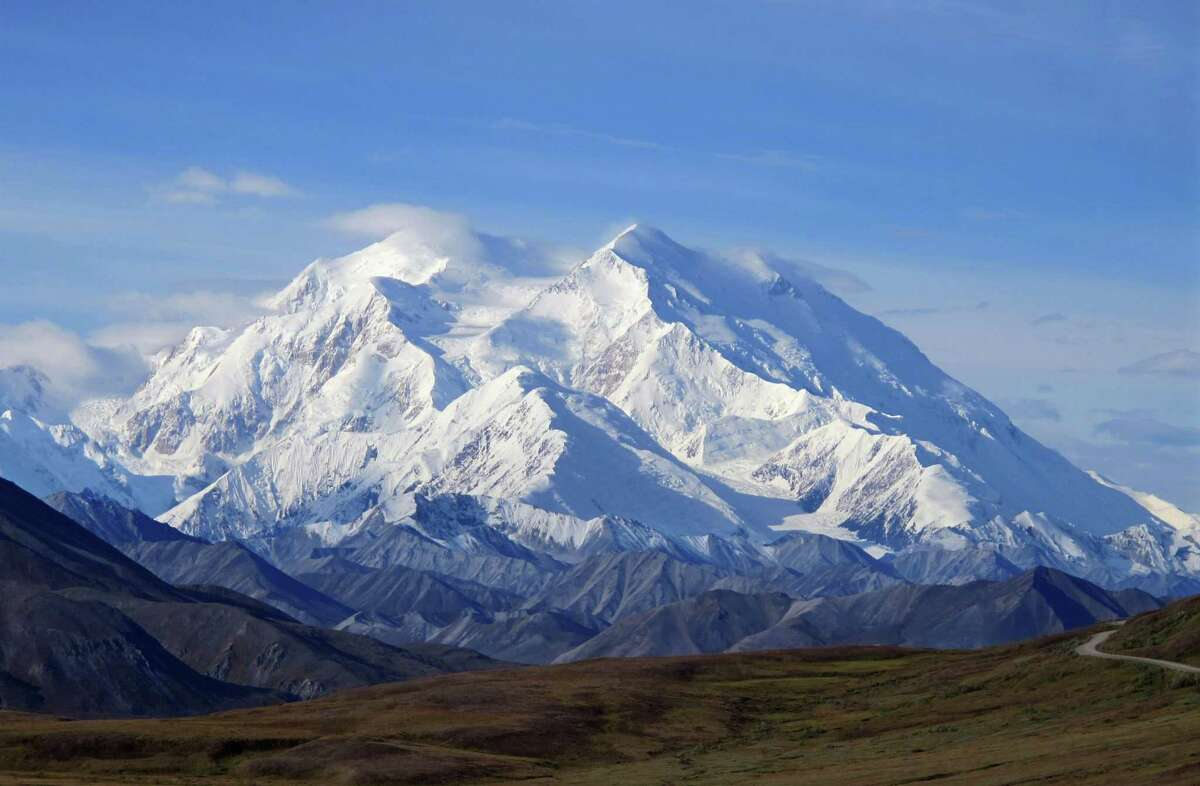 Denali Recently given back its original name of Denali, this former Mount McKinley in Alaska is, at 20,157 feet, the tallest mountain in North America.