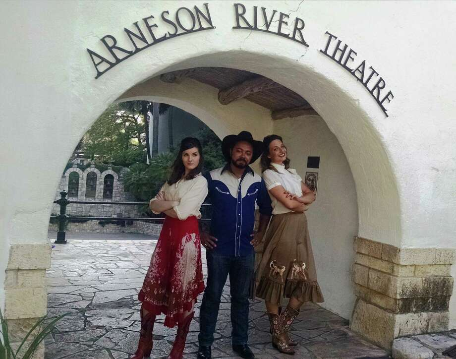 """Ashtyn Sonner (from left), Randolph Thompson and Melissa Zarb-Cousin star in """"The Winter's Tale,