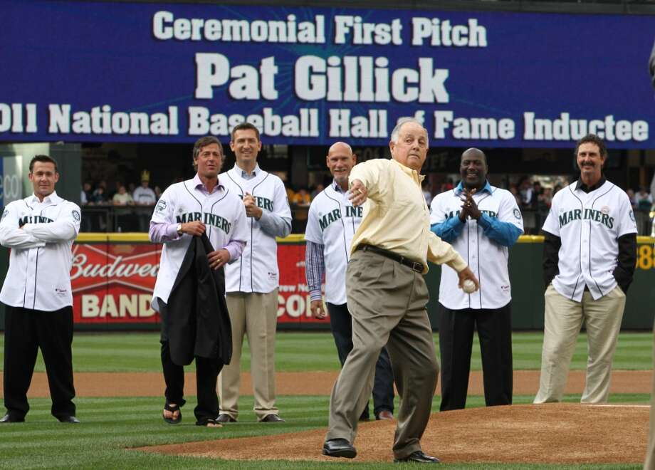 Background: Pat Gillick was the Mariners general manager from 2000-03. Seattle won at least 91 games in each of those seasons, and made two trips to the American League Championship (2000, 2001). In 2001, the Mariners tied a MLB record with 116 wins. Gillick has also been a GM for the Blue Jays (1978-94), Orioles (1996-98), Mariners and Phillies (2006-08). Photo: Getty Images