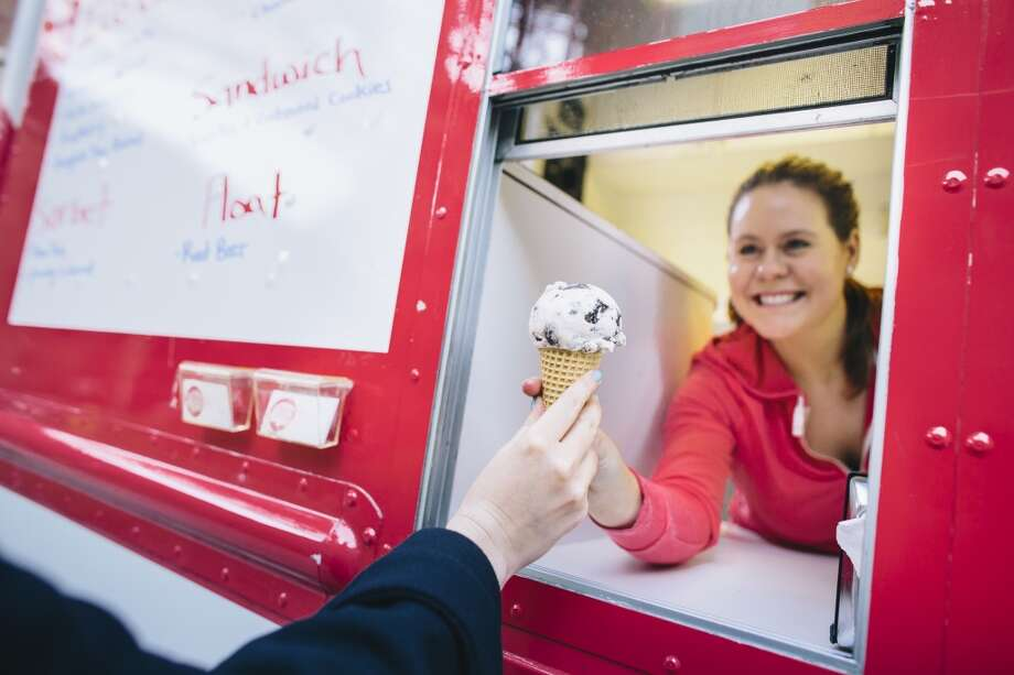 Frozen goodies served at Garden Creamery, one of our picks for top food trucks in the Bay Area. San Francisco is among those cities that require more licenses for food trucks. Photo: Elena Zhukova