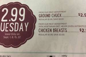 Fresh Market: $2.99 Tuesday deals for September - Photo