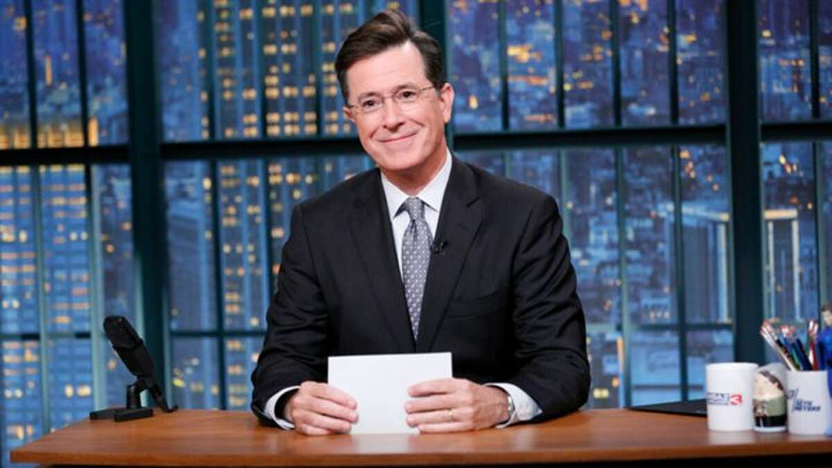 Nearly nine months after exiting Comedy Central, Stephen Colbert returns Tuesday, Sept. 8 as host of CBS'