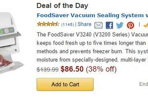 Save big on the FoodSaver Vacuum today only; share your meal-freezing tips - Photo