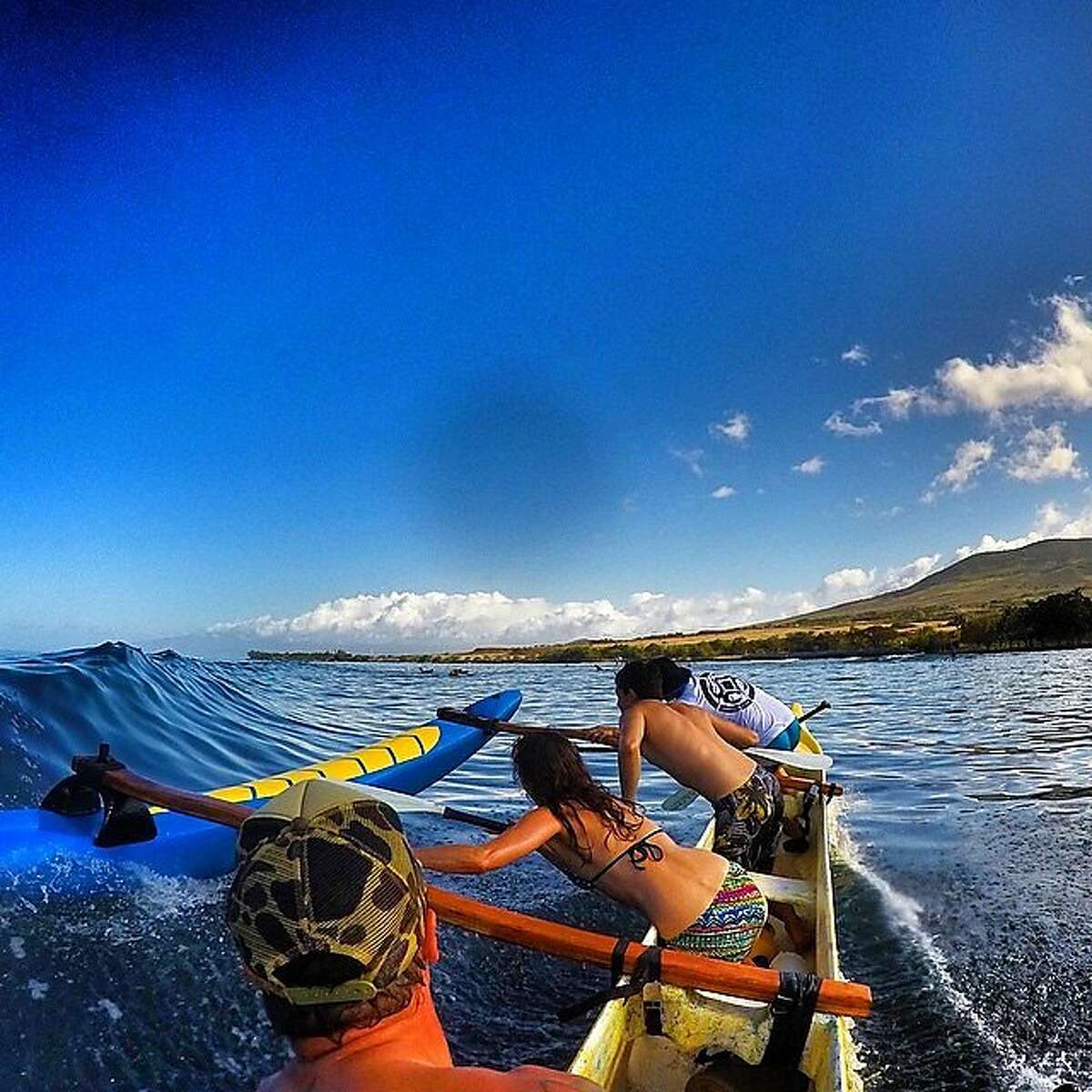 Although canoe surfing is an ancient sport in the islands, Maui's Hawaiian Paddle Sports is the first outfitter in the state to offer outrigger canoe surfing excursions.