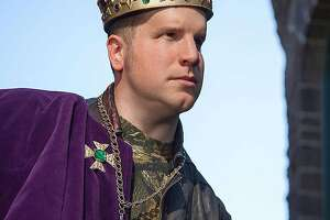 Blind actor feels no discontent in playing Richard III - Photo