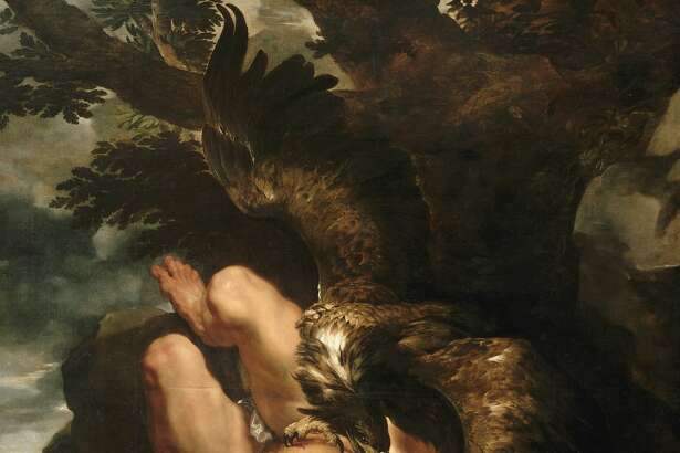 "Peter Paul Rubens' ""Prometheus Bound"" (1611-12) is the centerpiece of ""The Wrath of the Gods: Masterpieces by Rubens, Michelangelo, and Titian,"" opening Sept. 12 at the Philadelphia Museum of Art."