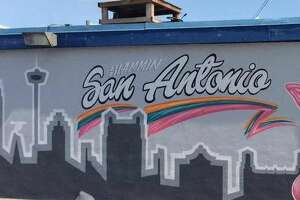 Spurs fans are loving this awesome Coyote mural - Photo