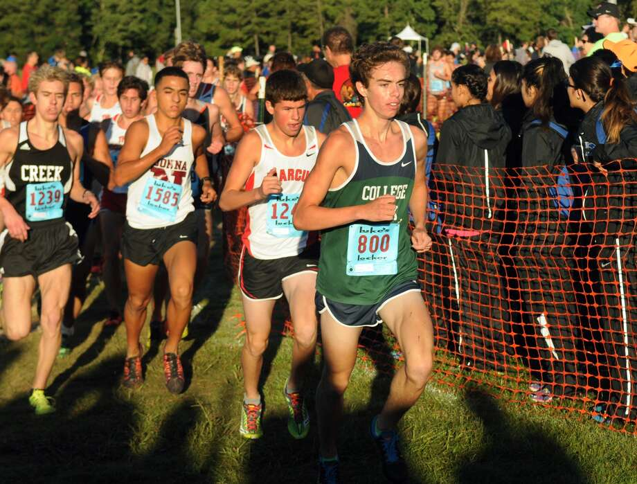 The return of senior Adam Breaux (right) will add to a strong early start by College Park's cross country team. Photo: Jerry Baker, Freelance