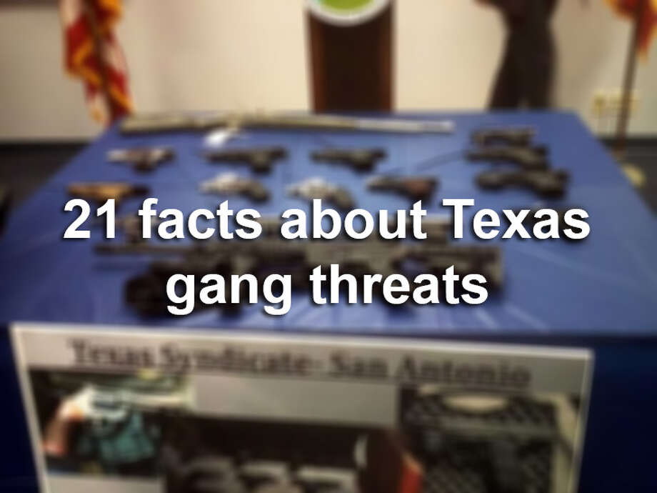 The Department of Public Safety has released its 2015 Texas Gang Threat Assessment report. These are the most important take-aways, which help explain much of the organized gang activity in Texas. Photo: San Antonio Express-News