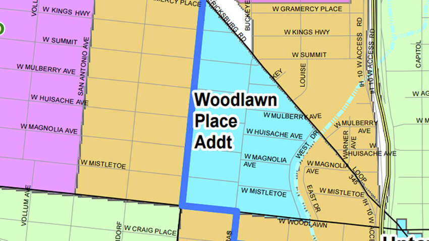 Potential Historic District: Woodlawn Place Addition