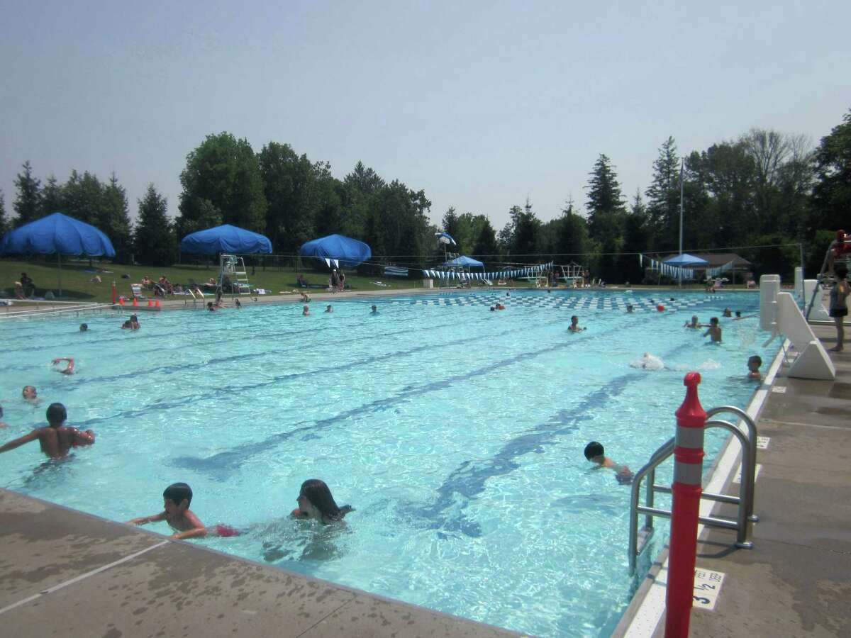Waveny Park pool in New Canaan.