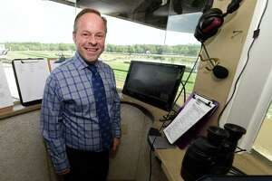 Saratoga Race Course announcer reflects on memorable Travers call - Photo