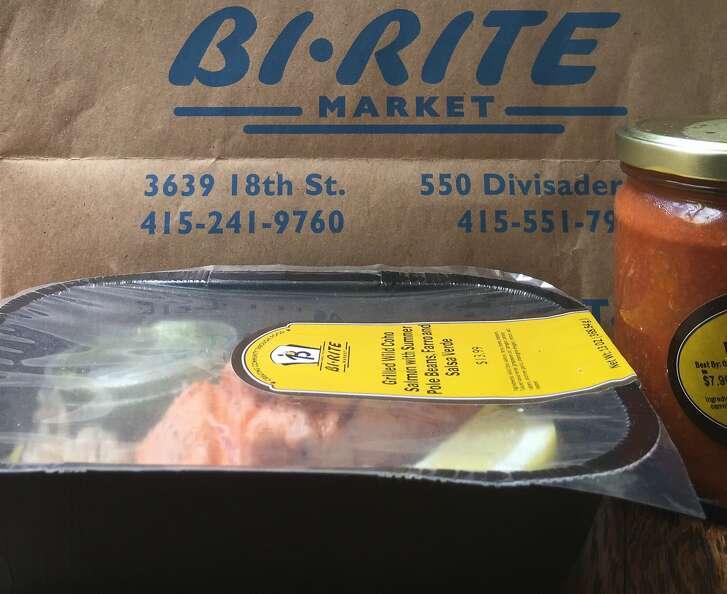 Bi Rite dinner, delivered from Instacart