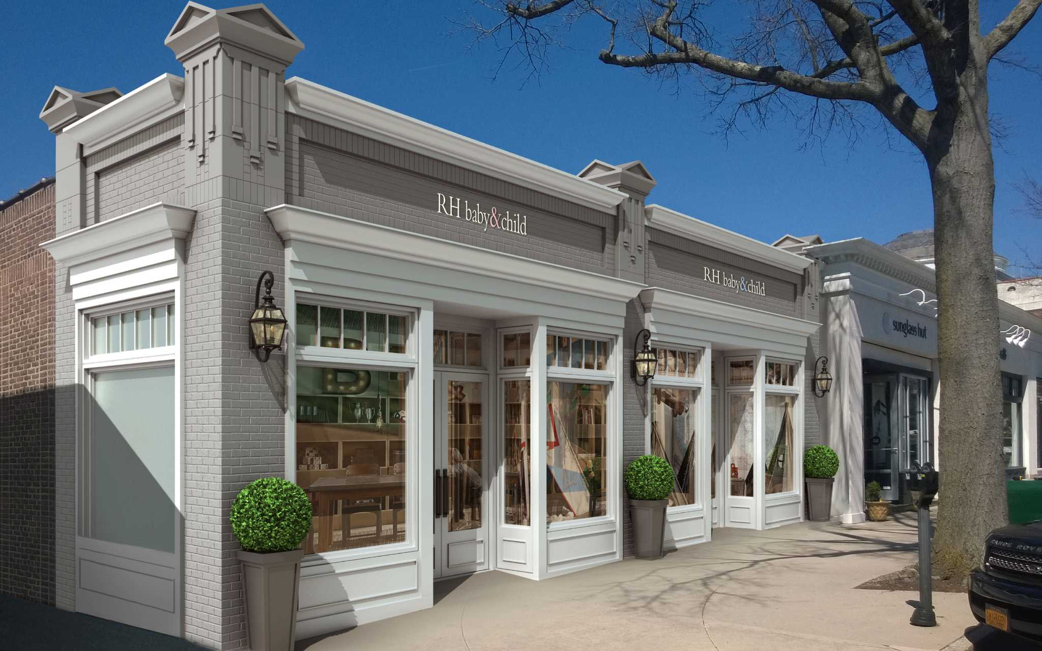 Rh Baby Child Close To Opening On Greenwich Avenue