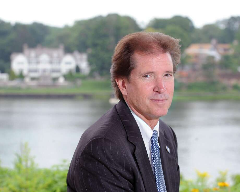 Republican state Sen. L. Scott Frantz, representing the 36th District, at Cos Cob Park in the Cos Cob section of Greenwich, Conn., Wednesday, July 15, 2015. Photo: Bob Luckey Jr., Hearst Connecticut Media
