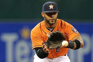 Villar brings versatility as Astros make most of expanded rosters in September - Photo